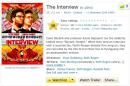 The internet decides that The Interview is a perfect movie