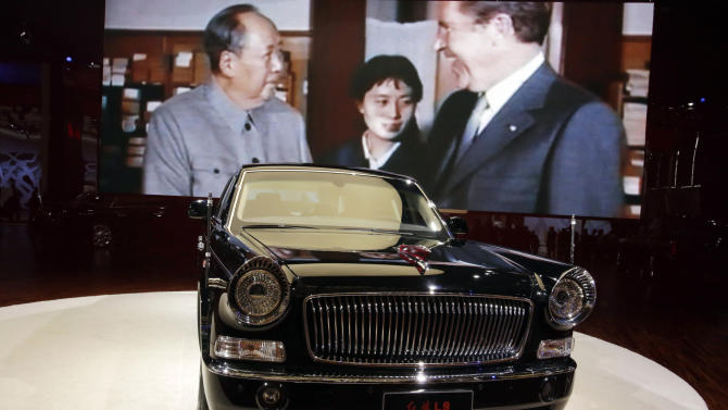 China revives Red Flag limo in display of ambition