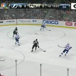 Lightning at Penguins / Game Highlights