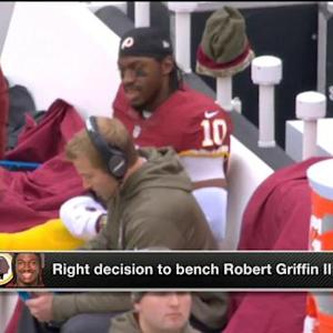 Kurt Warner: 'Jay Gruden had to bench RGIII'