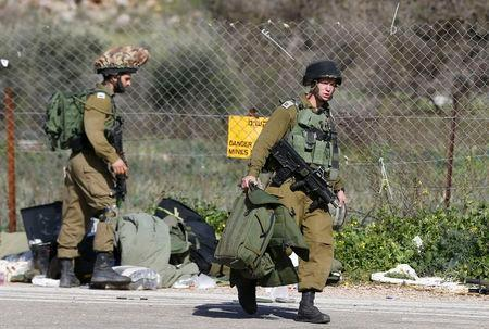 Violence flares on Israel-Lebanon frontier; seven Israeli soldiers wounded