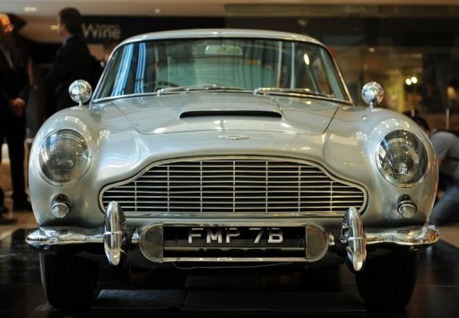 &lt;p&gt;The Aston Martin DB5 driven by actor Sean Connery as James Bond (007) in &quot;Goldfinger&quot; and &quot;Thunderball&quot;, pictured in 2010. Italian private equity fund Investindustrial has bought a 37.5 percent stake in the legendary British carmaker.&lt;/p&gt;