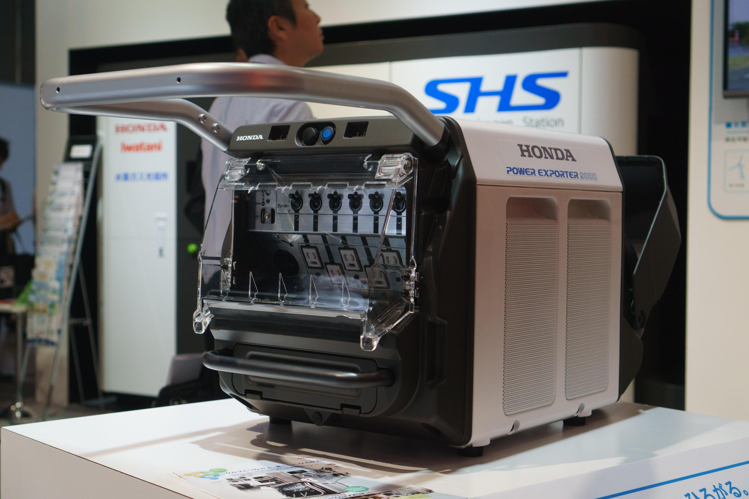 Honda's Power Exporter 9000 turns your electric car into the ultimate portable generator