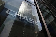 &lt;p&gt;This file photo shows the head office of JP Morgan Chase on Park Avenue in midtown Manhattan, pictured in July. JP Morgan Chase and Bank of America are among several US banks under investigation for breaches that may have let money flow to terrorists or drug dealers, according to The New York Times.&lt;/p&gt;