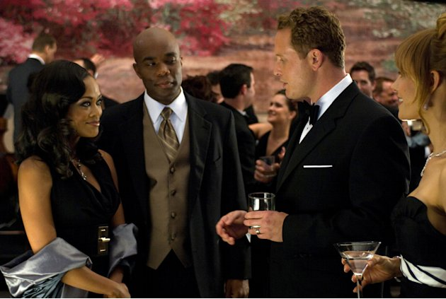 Robin Givens Benjamin Brown Cole Hauser KaDee Strickland Tyler Perry's The Family That Preys Production Stills Lionsgate 2008