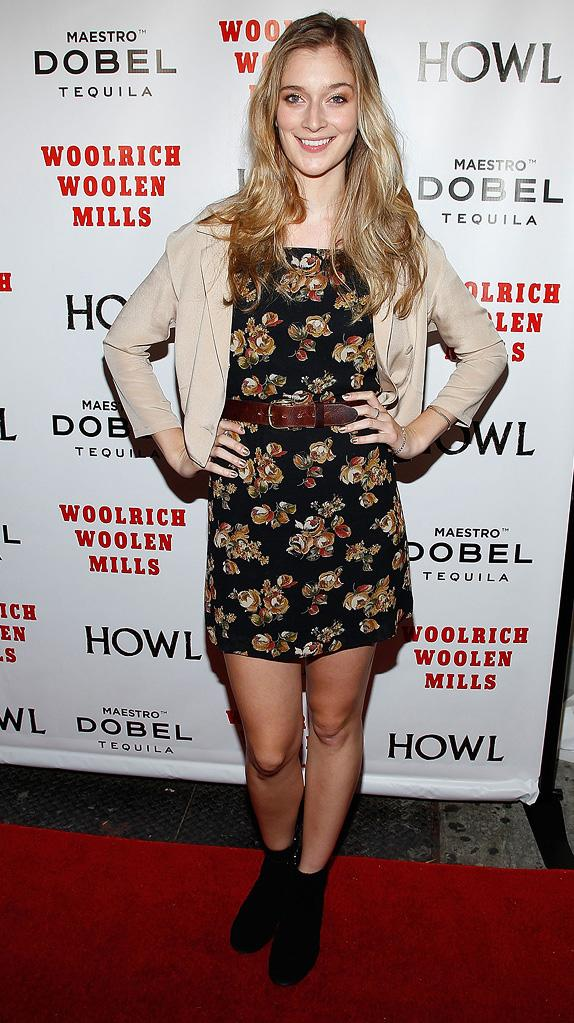 Howl NYC Screening 2010 Caitlin Fitzgerald
