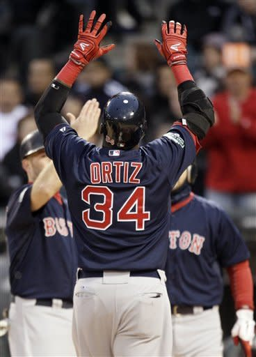 McDonald, Ortiz power BoSox over ChiSox 10-3