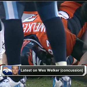 The Denver Broncos short on time and Welker
