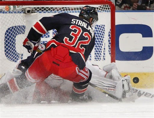 Stepan's OT goal lifts Rangers over Blue Jackets