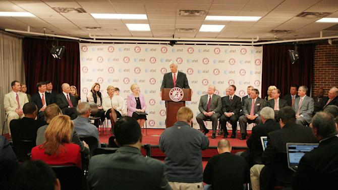 NCAA Football: University of Alabama-Press Conference