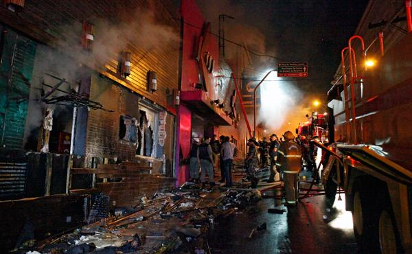 Club Owner, Band Members Questioned Over Brazil Fire