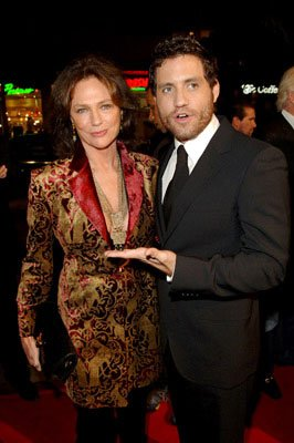 Jacqueline Bisset and Edgar Ramirez at the Hollywood premiere of New Line Cinema's Domino