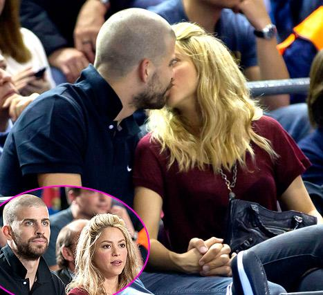 Shakira and Gerard Pique Kiss During Date Night Without Son Milan