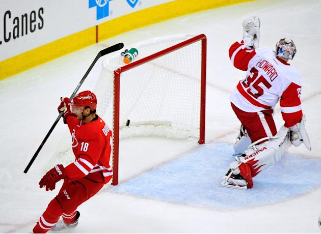 Detroit Red Wings v Carolina Hurricanes