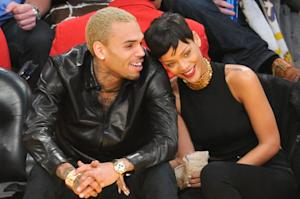Rihanna Accompanies Chris Brown to Court Hearing