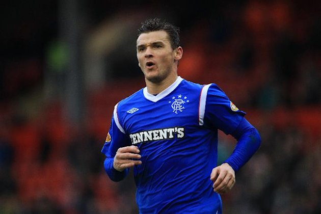 Lee McCulloch scored Rangers' winner against Brechin
