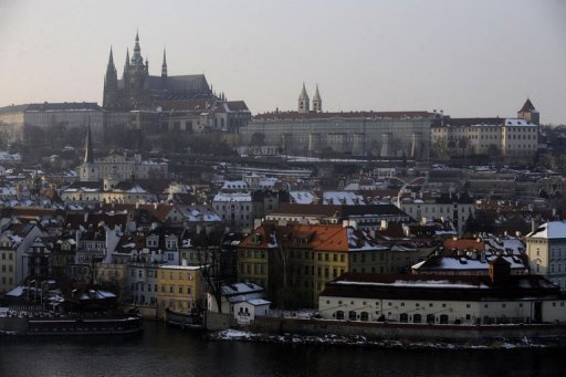 &lt;p&gt;A general view of Prague with Prague Castle in the background, February 2010. The Czech central bank CNB cut its key two-week interest rate by 0.2 percentage points to 0.05 percent on Thursday, the lowest level since the country became independent in 1993.&lt;/p&gt;