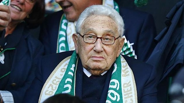 Henry Kissinger watches Greuther Fuerth (Reuters)