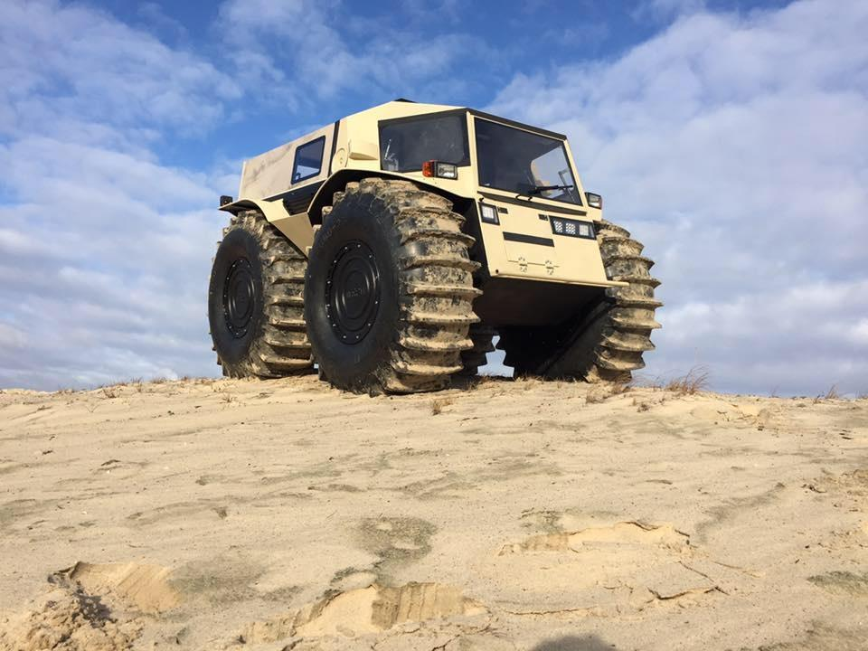 The Sherp ATV is the life-size Tonka truck you've been craving since childhood