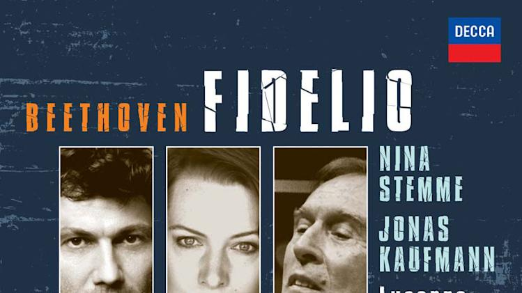 "In this CD cover image released by Decca, ""Beethoven, Fidelio,"" featuring Nina Stemme, Jonas Kaufmann, is shown. (AP Photo/Decca)"