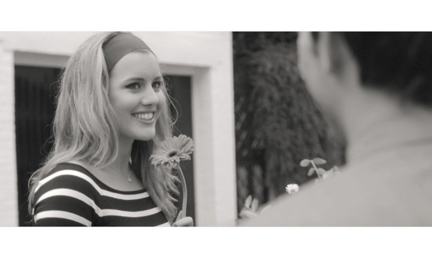 Caggie Dunlop in silent movie, The Walk