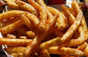 French fries are shown in Hollywood