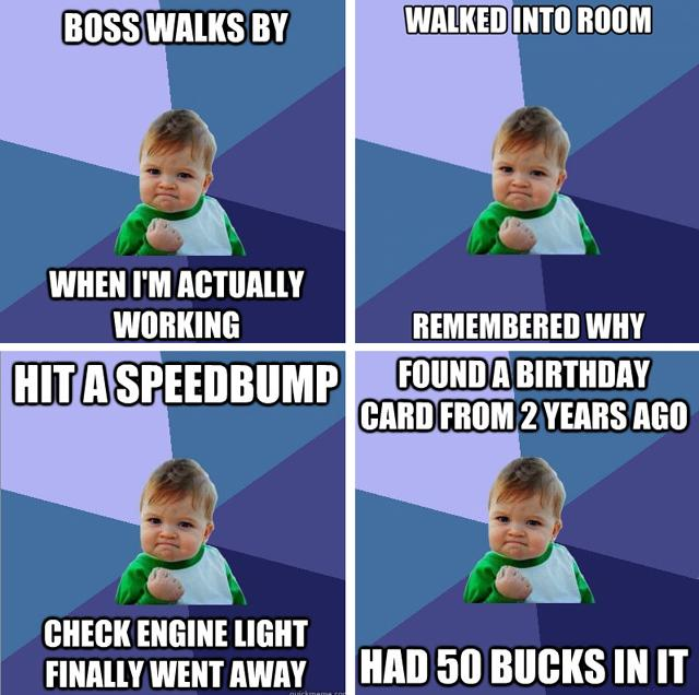 Mini Meme: Join Us for a Live Chat With 'Success Kid'