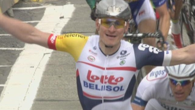 Greipel captures first stage in Belgium