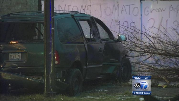 Boy, 11, killed after carjacker crashes into SUV on South Side