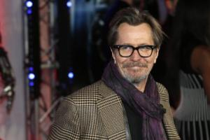File photo of cast member Oldman posing for photographers as he arrives at the premiere of Robocop at the BFI IMAX Southbank in London