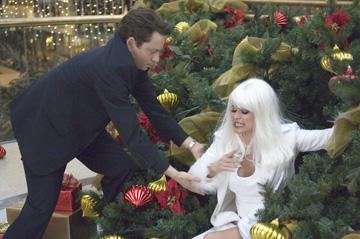 Chris Kattan and Carmen Electra in Yari Film Group's Christmas in Wonderland