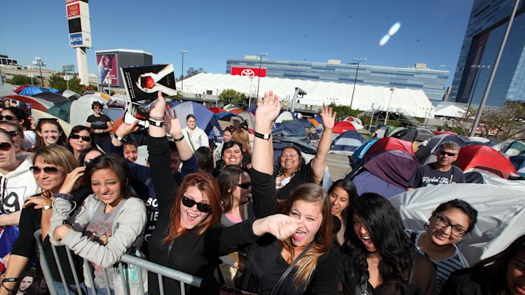 Fans at the Time Warner Cable and Twilight Fan Breakfast on Sunday, Nov. 11, 2012 in Los Angeles. (Photo by Casey Rodgers/Invision for Time Warner Cable/AP Images)