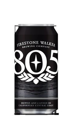 Firestone Walker has released its 805 craft beer in 12-ounce aluminum cans from Ball Corporation.