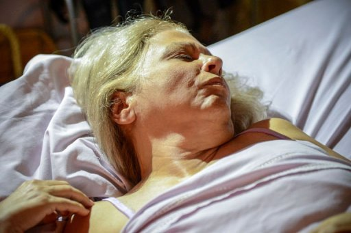 &lt;p&gt;Cuban dissident Marta Beatriz Roque lies on her bed during her hunger strike, in Havana on September 18, 2012. The communist government has bowed to the demands of Roque and other hunger strikers and freed Jorge Vazquez Chaviano&lt;/p&gt;
