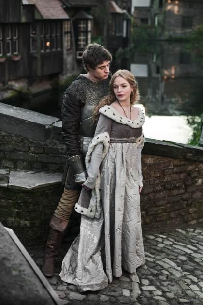 Max Irons as King Edward, Rebecca Ferguson as Elizabeth Woodville in Starz' 'The White Queen' -- Starz