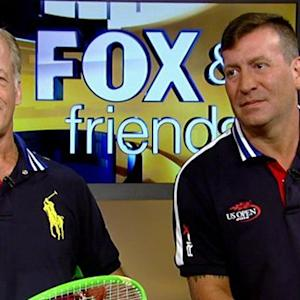 Wounded warriors become US Open ballpersons