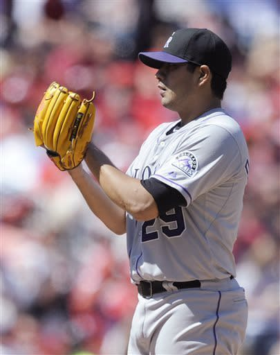 De La Rosa dominates, Rockies beat Cardinals 8-2