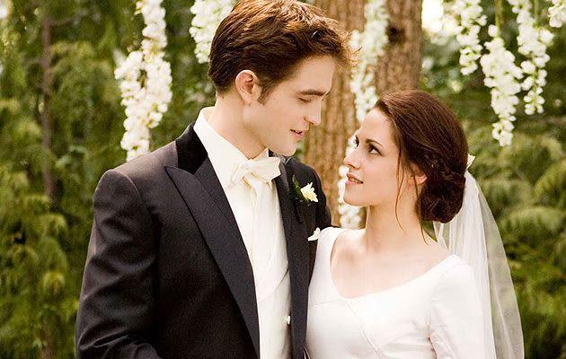 lovely    The wedding scene in Breaking Dawn   Part 1  Copyright  E1