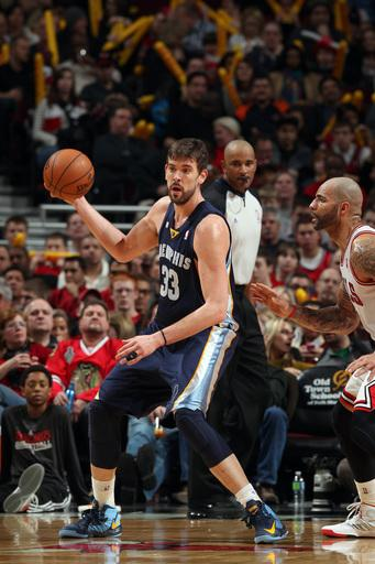 Grizzlies beat weary Bulls in OT, 85-82