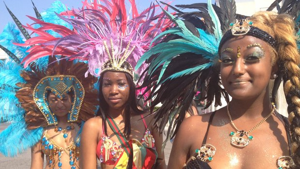 Up to a million people are expected at the Scotiabank Caribbean Carnival's parade on Saturday.