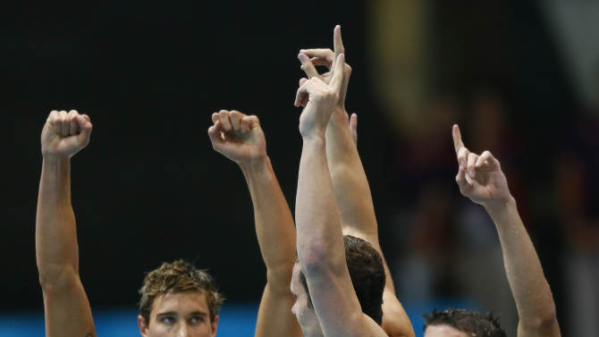 Olympics: Swimming-Men's 4x100m Medley Relay-Final