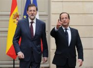 Crisi, Hollande-Rajoy: Attuare decisioni eurozona per crescita