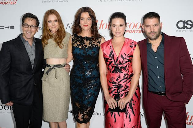 Dan Bucatinsky, Darby Stanchfield, Bellamy Young, Katie Lowes, and Guillermo Diaz