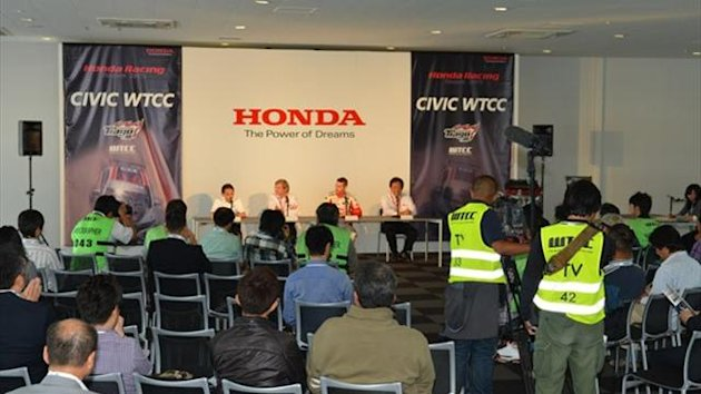 Honda launch WTCC programme at Suzuka