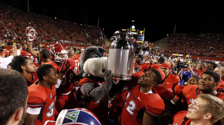 NCAA Football: Boise State at Fresno State