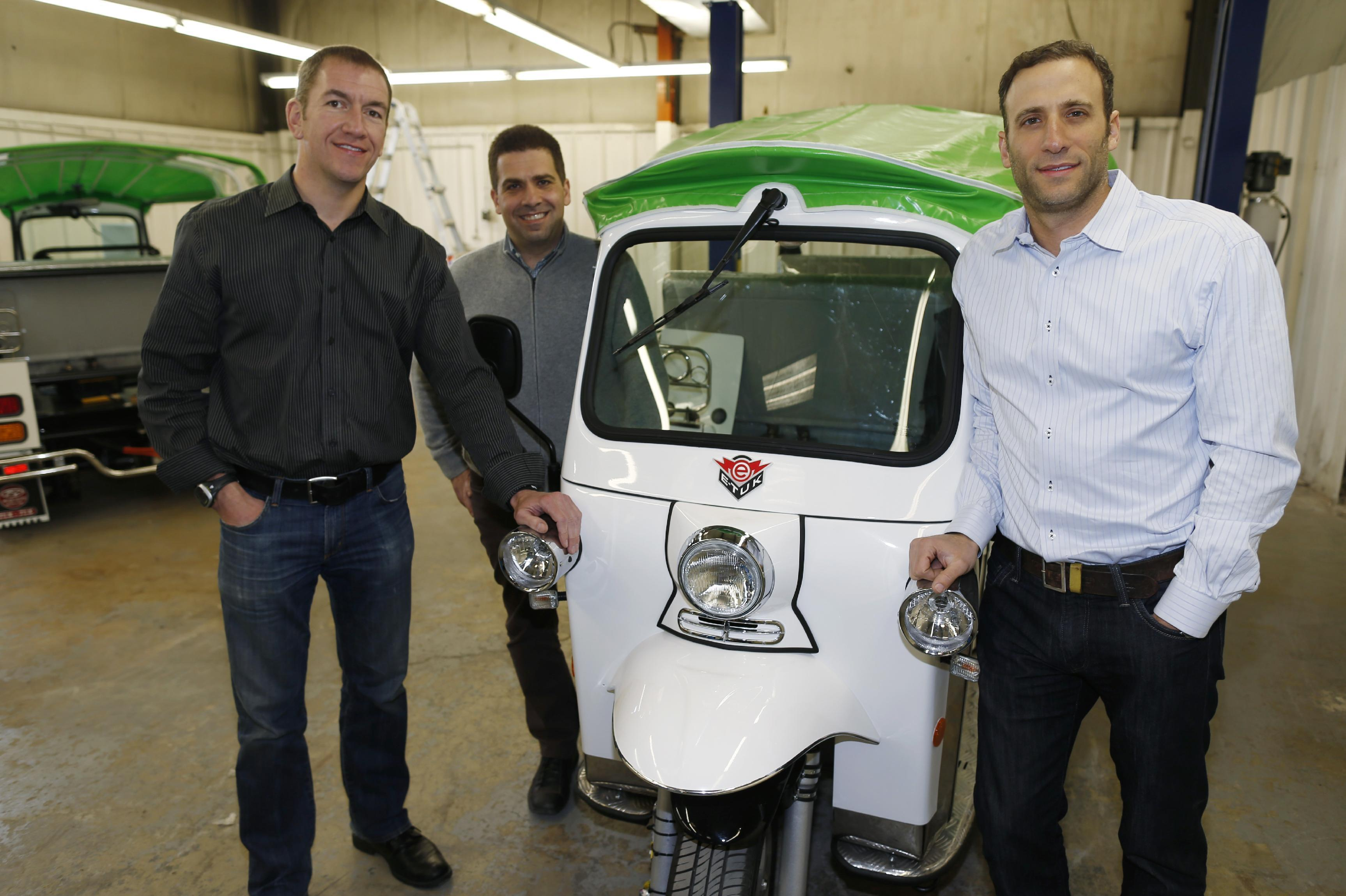 Tuk-tuk taxi maker aims to make inroads in US