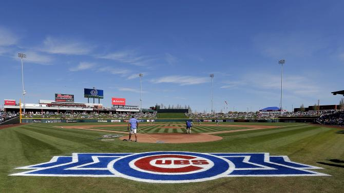 Cubs lose to Diamondbacks in opener of new park