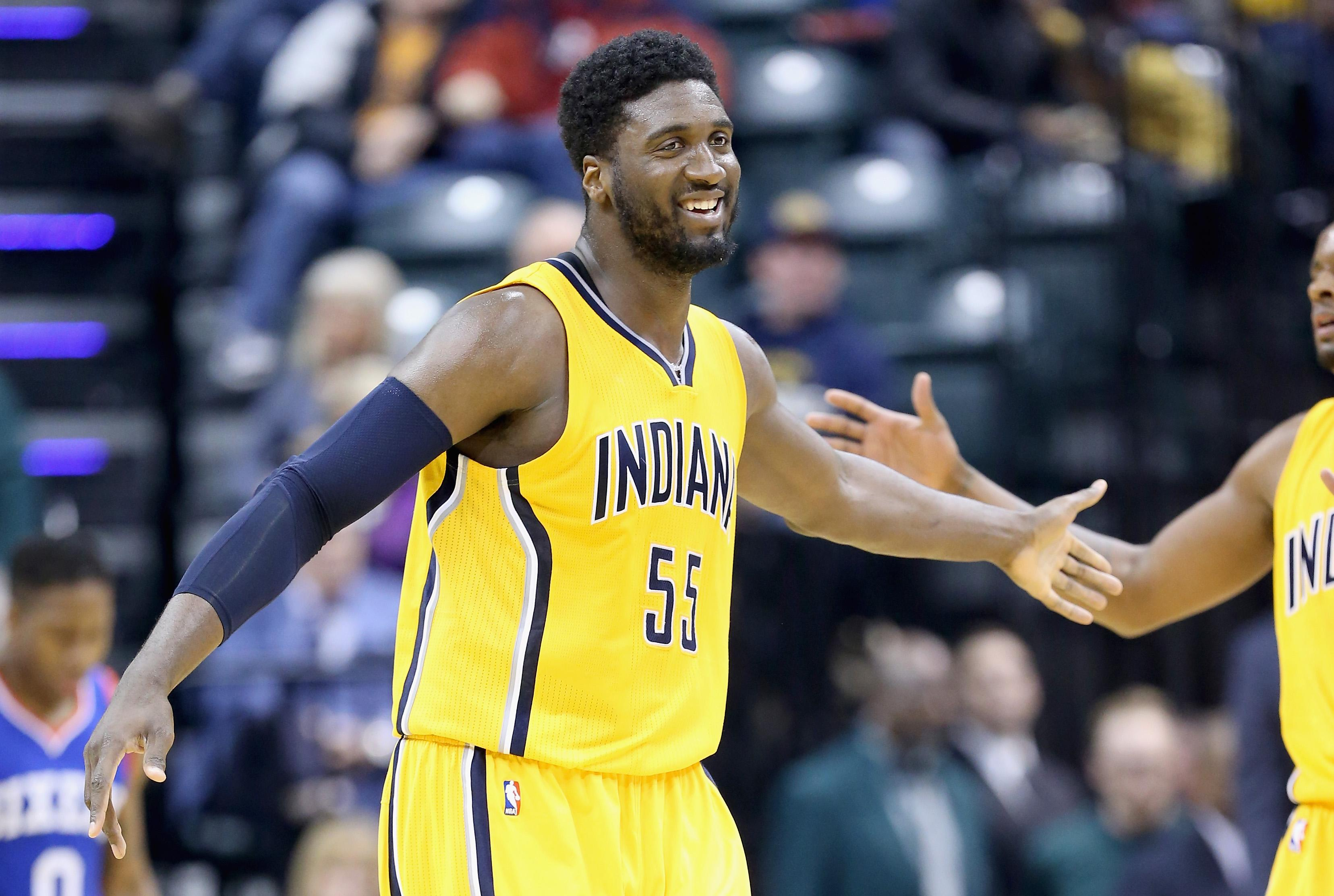 Sources: Lakers finalizing terms on trade to acquire Pacers center Roy Hibbert