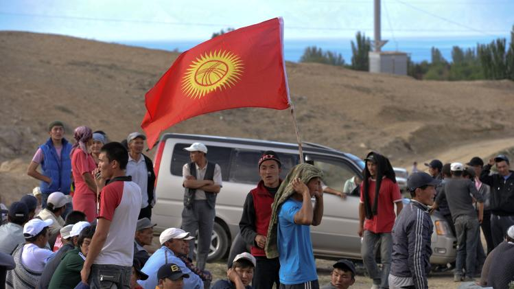 Kyrgyz protesters unblock Canadian gold mine