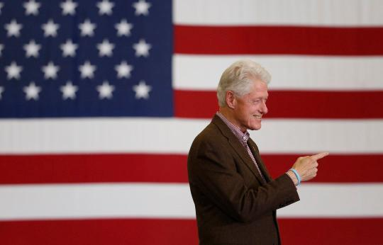Bill Clinton implores Nevada voters: 'This is not a cartoon. This is real life'
